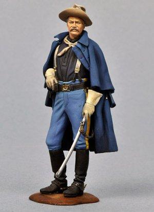Oficial Caballería USA, 1876  (Vista 1)