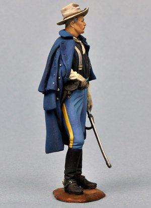 Oficial Caballería USA, 1876  (Vista 2)