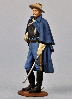 Oficial Caballería USA, 1876  (Vista 4)