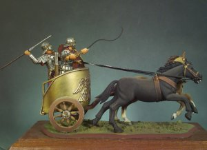 Carro de Guerra romano 125 DC  (Vista 4)