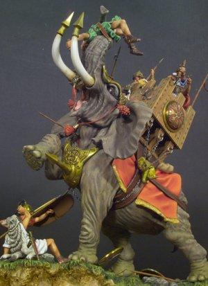 Elefante de Guerra Cartaginés 202 AC  (Vista 2)