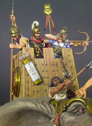 Elefante de Guerra Cartaginés 202 AC  (Vista 3)