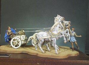 Quadriga Carro de carreras Romano - Ref.: ANDR-SGS009