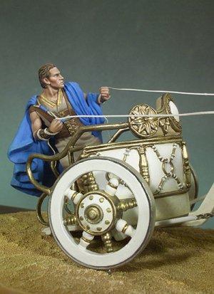 Quadriga Carro de carreras Romano  (Vista 4)
