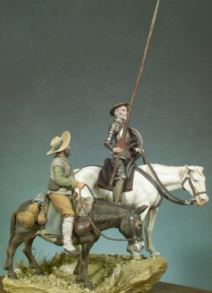 Don Quijote y Sancho  (Vista 1)