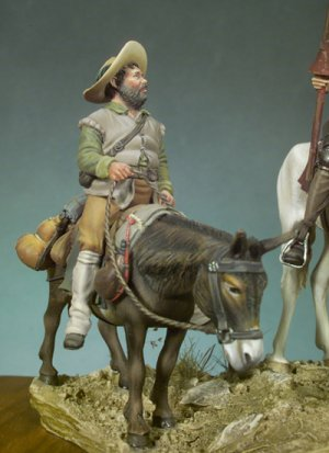 Don Quijote y Sancho  (Vista 3)