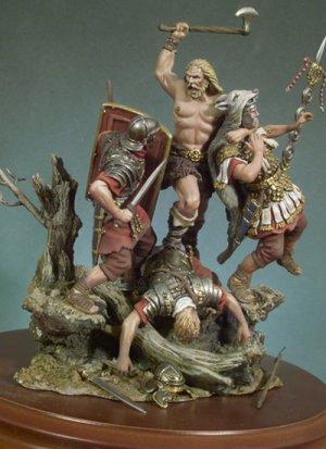 Llegan los Bárbaros 180 d.C  (Vista 1)
