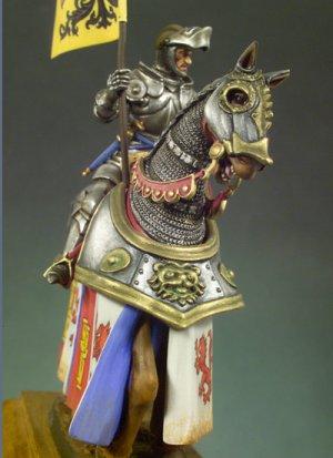 Caballero con armadura  (Vista 3)