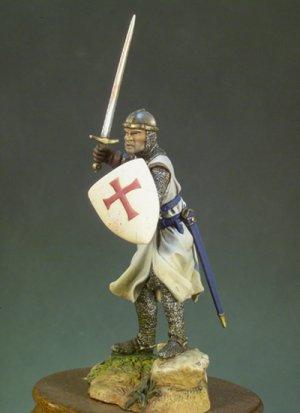 Caballero Templario aí±o 1200)  (Vista 2)
