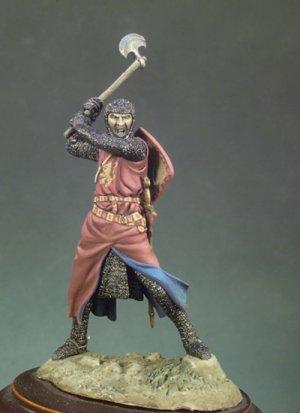 Caballero con hacha  (Vista 1)