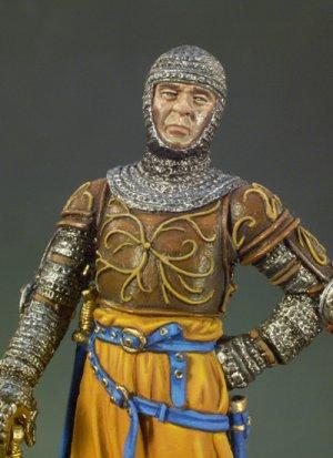 Caballero Italiano año 1300  (Vista 2)