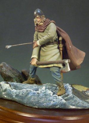 Guerrero Vikingo herido  (Vista 1)