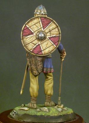 Guerrero Vikingo ,Noruega, s.X  (Vista 2)