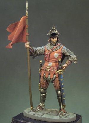 Caballero Francés año 1350  (Vista 1)