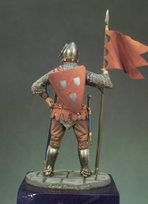 Caballero Francés año 1350  (Vista 3)