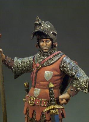 Caballero Francés año 1350  (Vista 4)