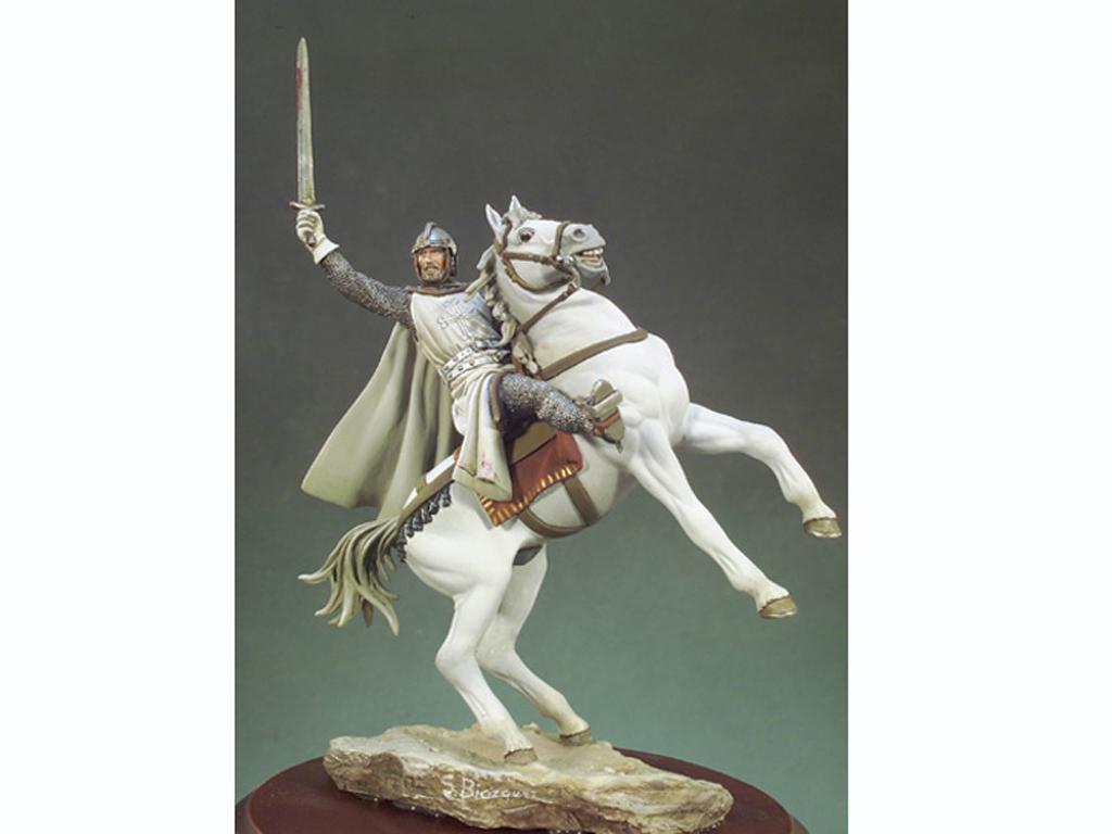 El Cid a caballo  (Vista 1)