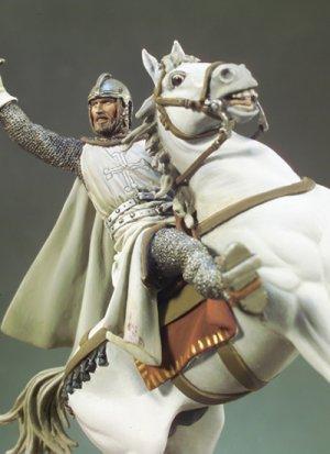 El Cid a caballo  (Vista 2)