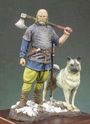 Jefe vikingo  siglo X d. C  (Vista 1)