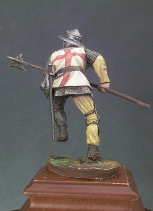 Alabardero, Batalla de Agincourt 1415  (Vista 2)