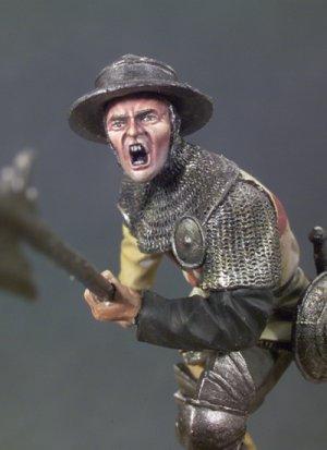 Alabardero, Batalla de Agincourt 1415  (Vista 3)