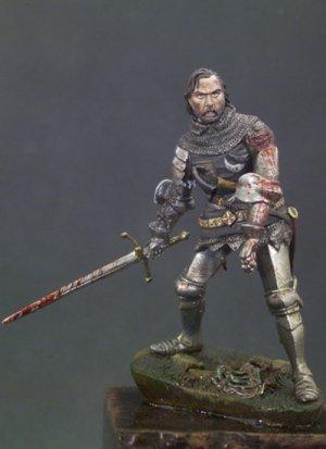 Caballero Herido ,Agincourt 1415  (Vista 1)