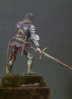 Caballero Herido ,Agincourt 1415  (Vista 3)