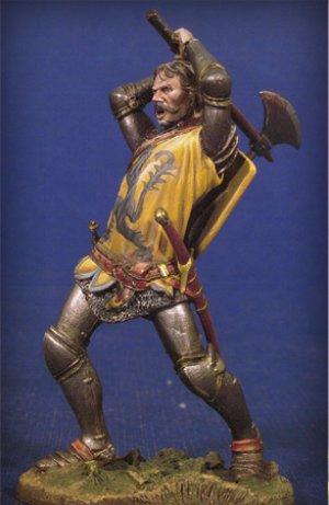 Caballero en combate I,Crecy 1346  (Vista 1)