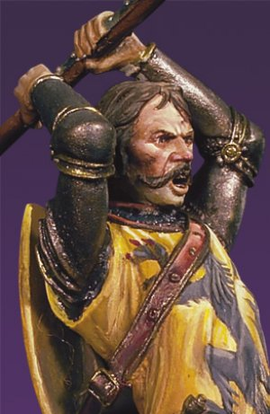 Caballero en combate I,Crecy 1346  (Vista 2)
