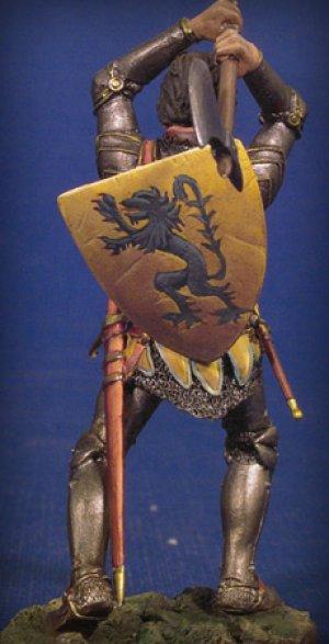 Caballero en combate I,Crecy 1346  (Vista 3)