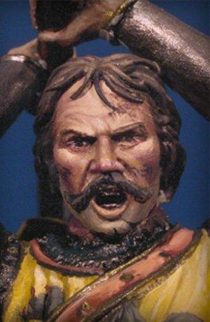 Caballero en combate I,Crecy 1346  (Vista 4)