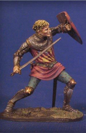 Caballero en combate II,Crecy 1347  (Vista 1)