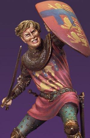 Caballero en combate II,Crecy 1347  (Vista 2)