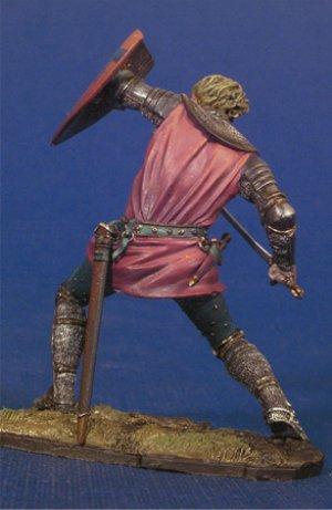 Caballero en combate II,Crecy 1347  (Vista 3)
