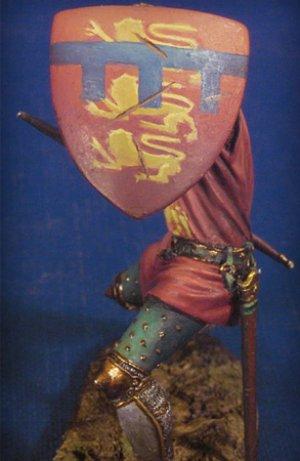 Caballero en combate II,Crecy 1347  (Vista 4)