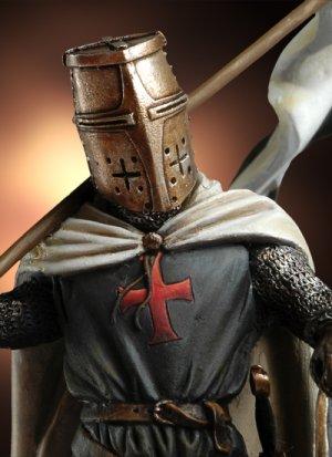 Templario con Bandera, siglo XII  (Vista 2)