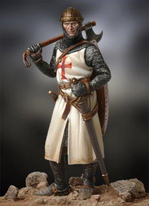 Caballero Medieval, siglo XIII  (Vista 2)