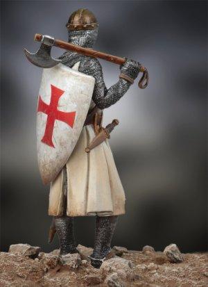 Caballero Medieval, siglo XIII  (Vista 3)