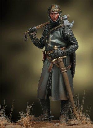 Caballero Medieval, siglo XIII  (Vista 4)