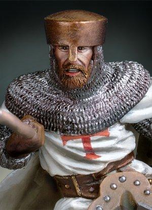 Maestro Templario a caballo, siglo XII  (Vista 3)
