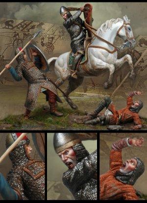 La Batalla de Hastings  1066 D. C  (Vista 2)
