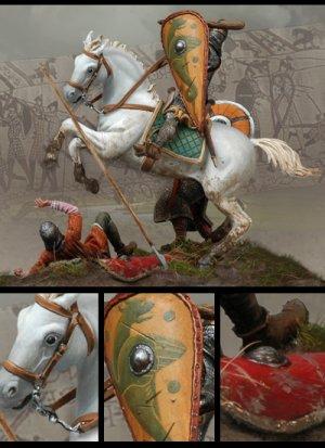 La Batalla de Hastings  1066 D. C  (Vista 3)