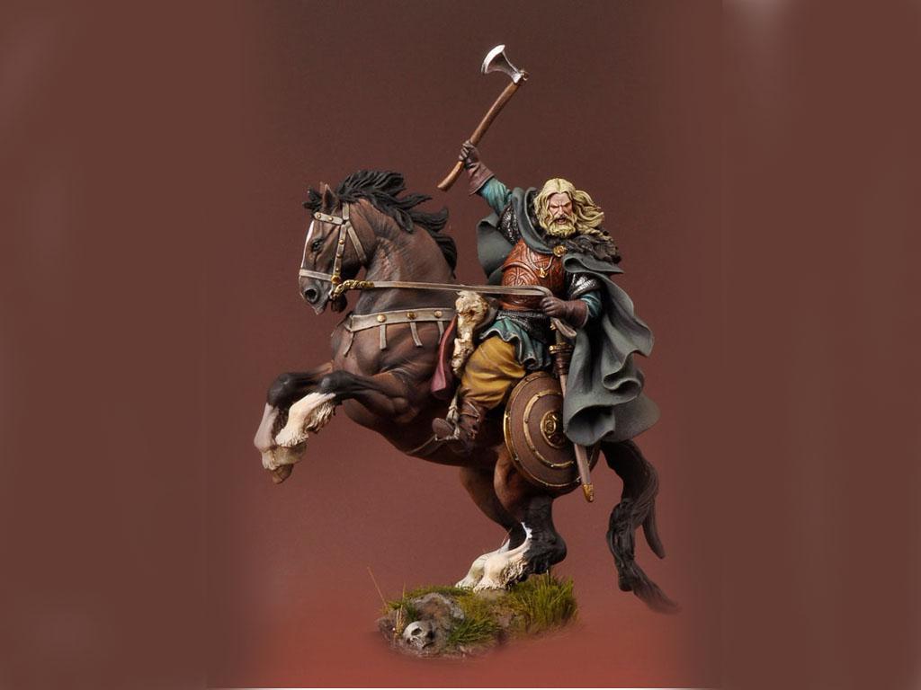 Vikingo a caballo 850 DC  (Vista 1)