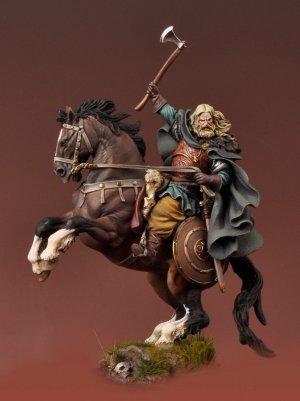 Vikingo a caballo 850 DC  (Vista 4)