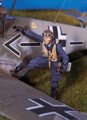 Piloto de caza alemán  (Vista 1)