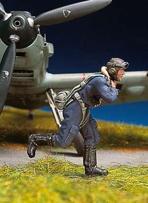 Piloto alemán corriendo I  (Vista 1)