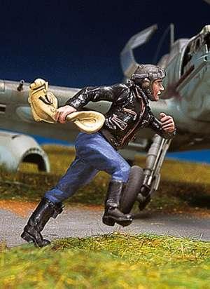 Piloto alemán corriendo II  (Vista 1)
