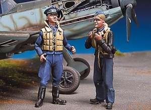 Pilotos alemanes en descanso III  (Vista 1)