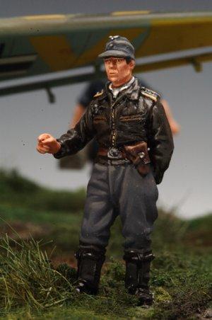 Piloto Stuka y Artillero  (Vista 2)