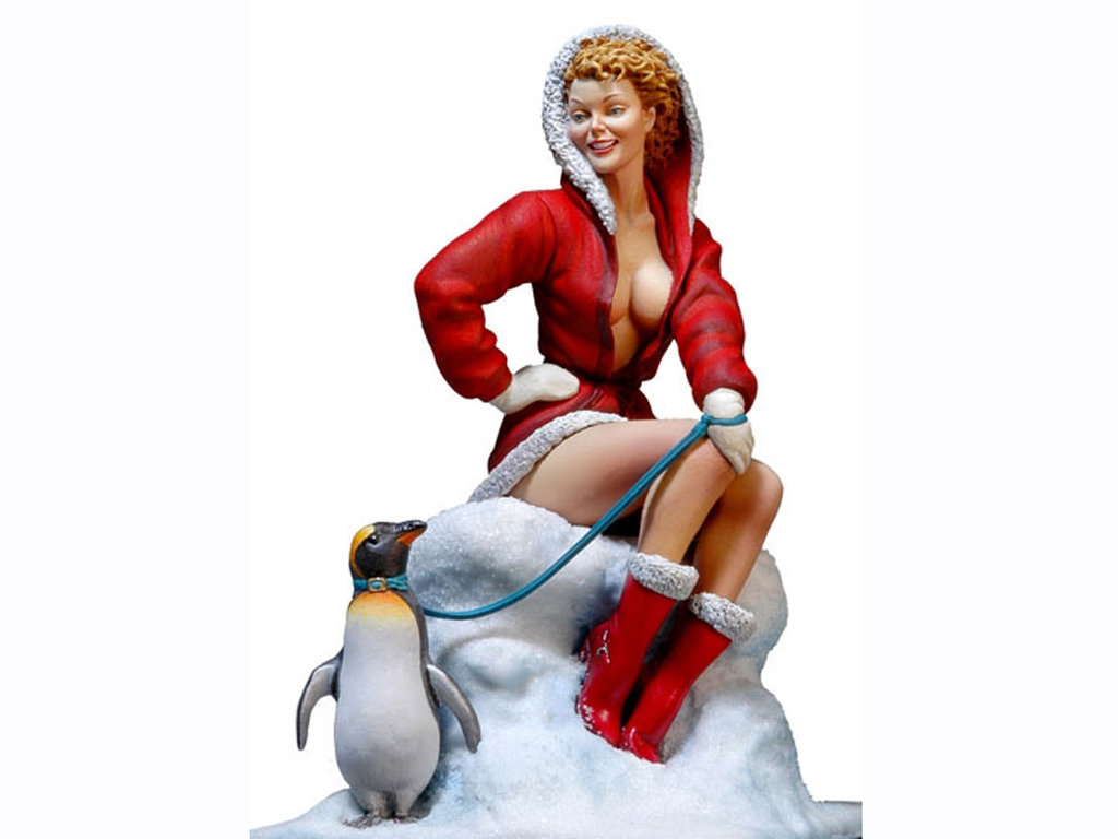 Chica Santa Claus. - Ref.: ANDR-UP010